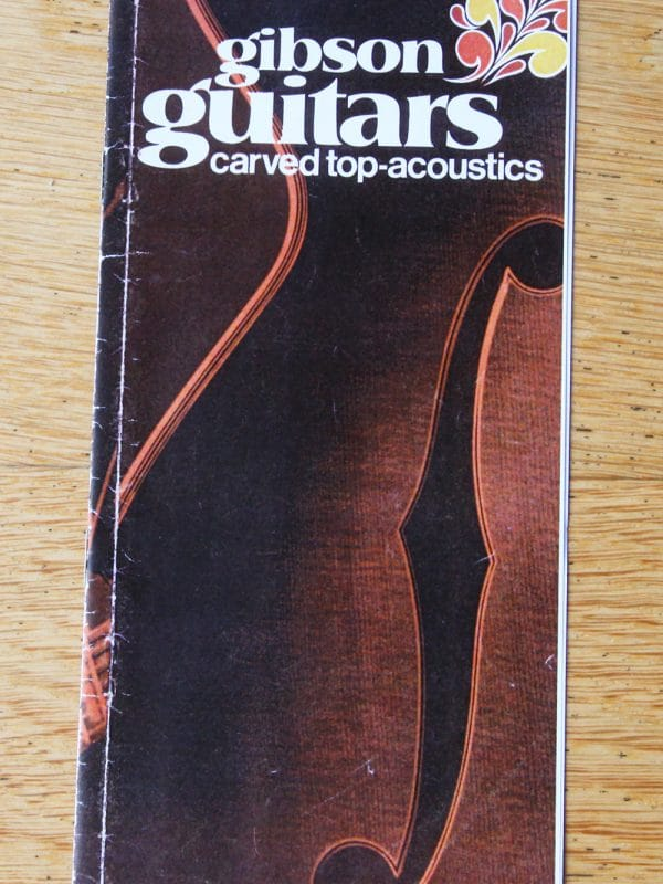 Gibson guitar catalogue