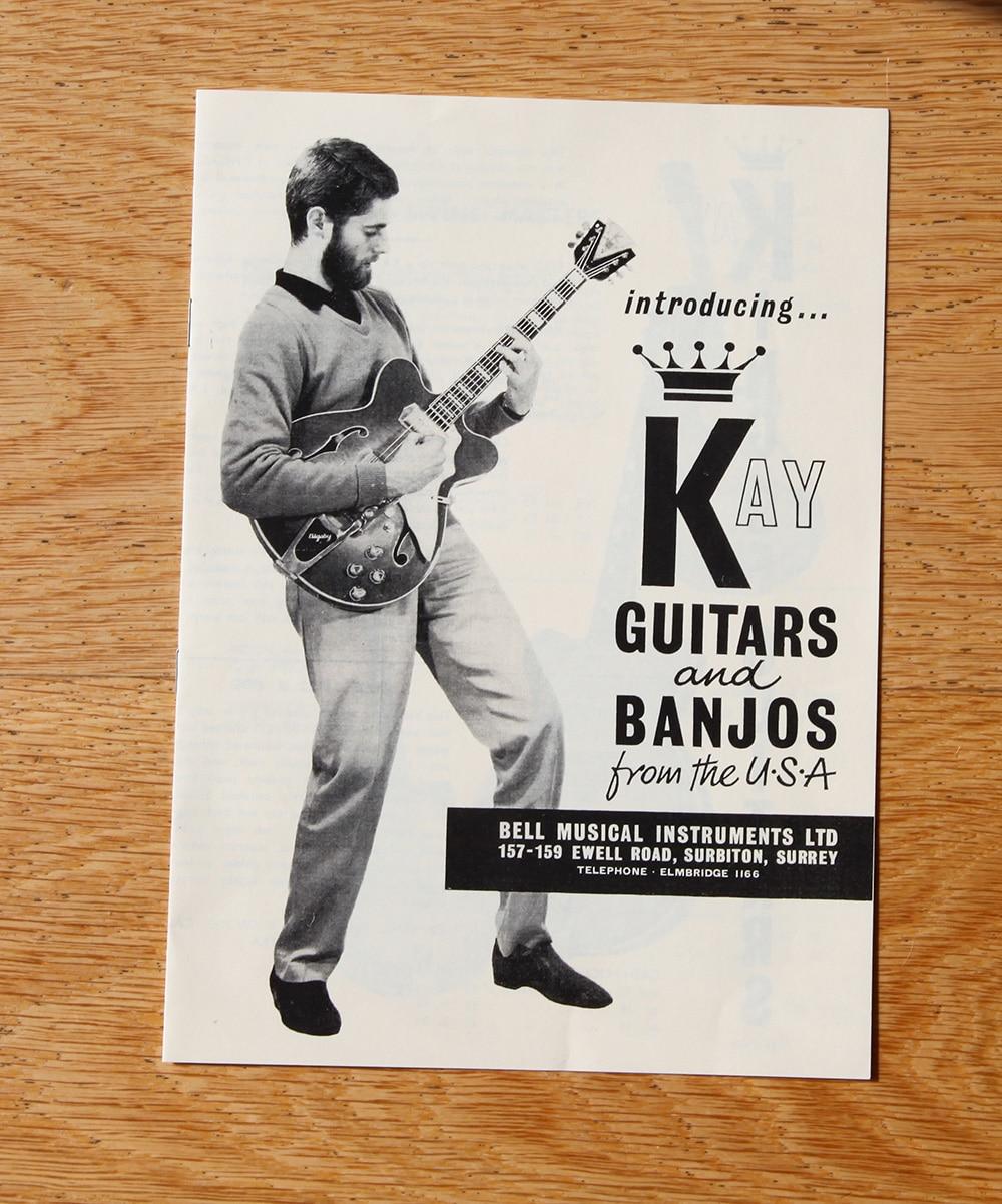 Kay guitar catalogue