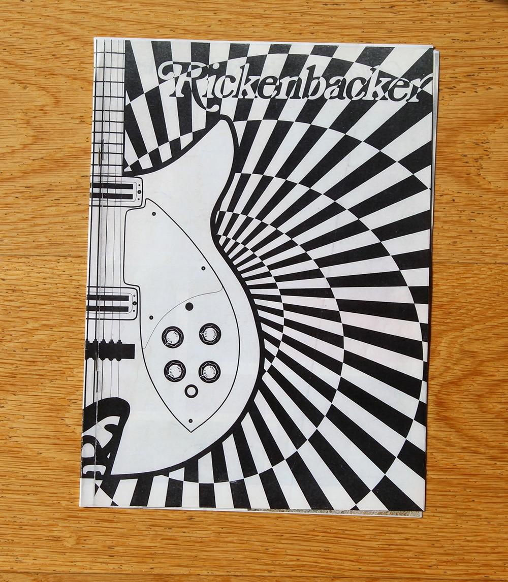Rickerbacker guitar catalogue