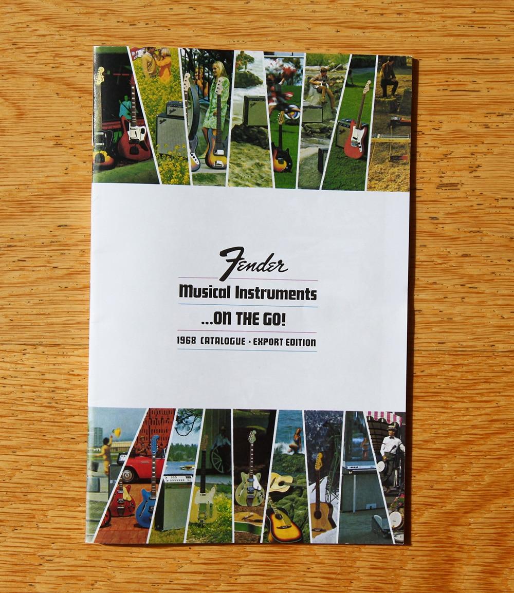 Fender guitar catalogue