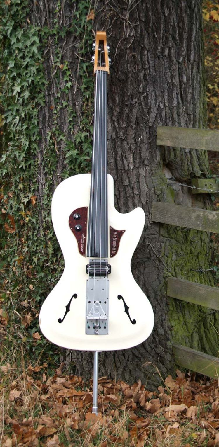 ORMSTON BURNS UPRIGHT BASS