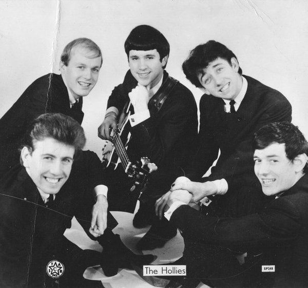 Hollies signed promo photograph
