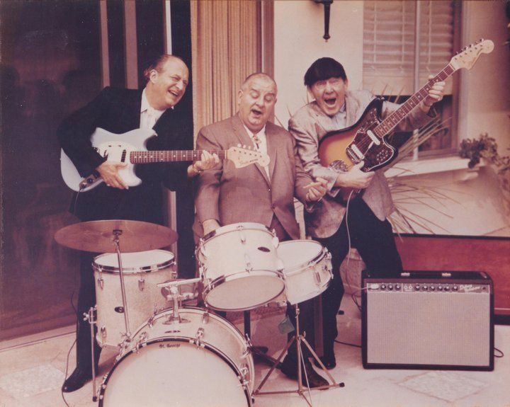 Three Stooges Fender promo photo
