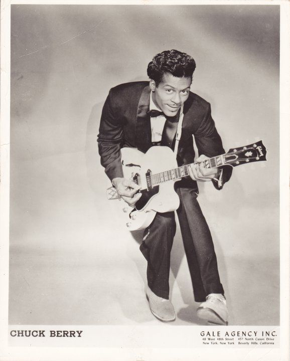 Chuck Berry promo photograph