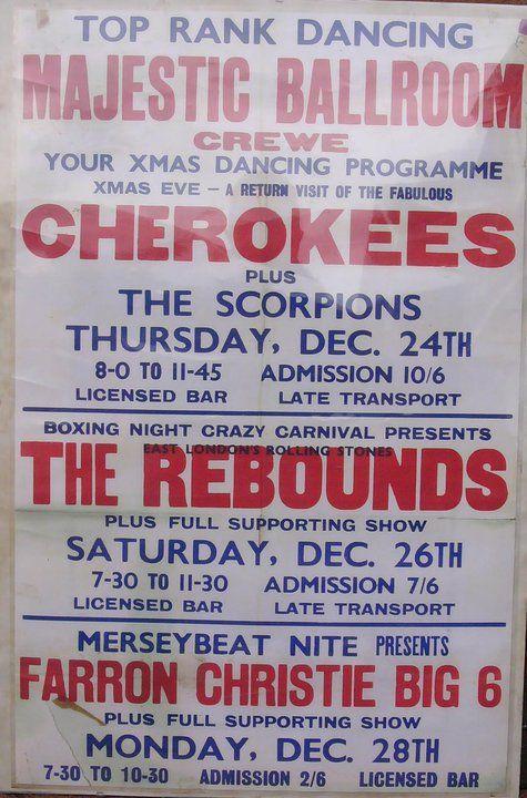 Original Crewe Majestic poster