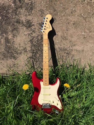 fender squire statocaster
